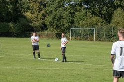 Free kick training