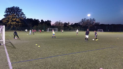 Tuesday night training for our Junior squads