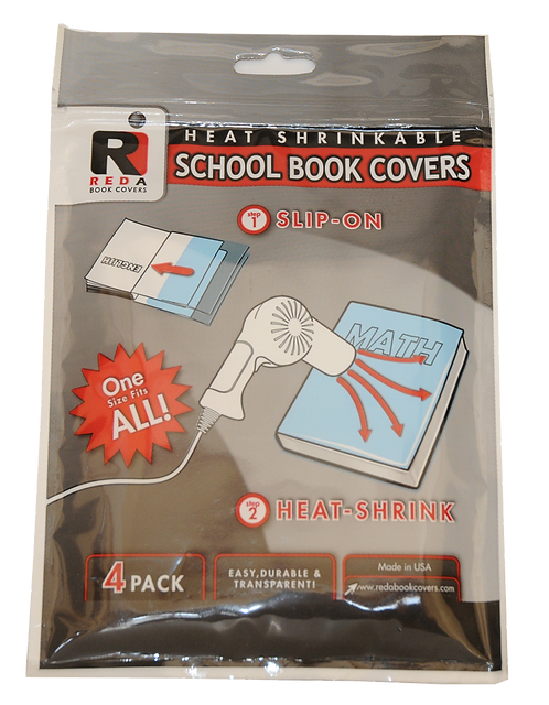 REDA Book Cover            (4 covers per pack)