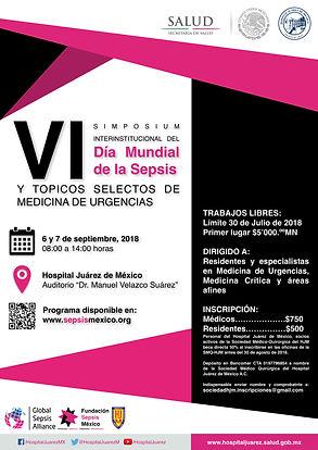 Simposim Sepsis Hospital Juárez México 2018