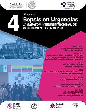 Sepsis Hospital General México 2018