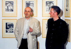 Roddy Doyle launches The State We're Out at the Graphic Studio Gallery, Dublin