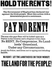 Land League Poster