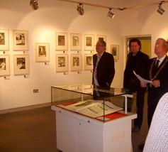 Cork Public Museum show opened by Robert Ballagh