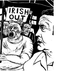 'Irish Out' March