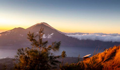 Mount Agung, Bali, Sunrise