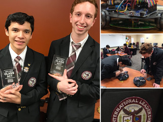 CW39 Class Acts: Houston students ready their robot for competition in Vietnam