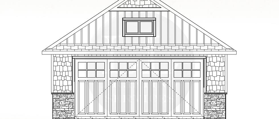 Garage Plan LLG-013