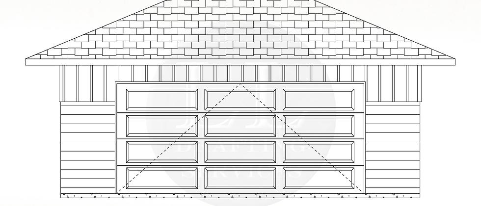 Garage Plan LLG-008