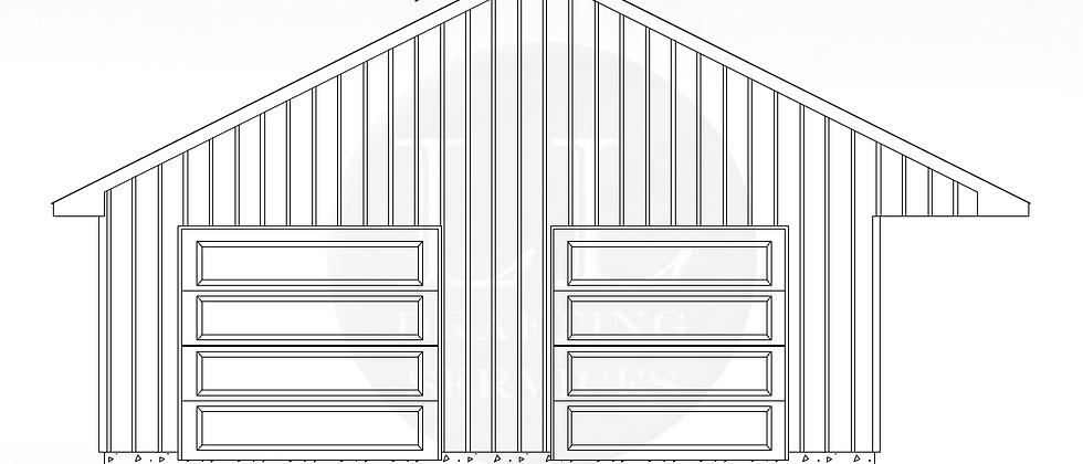 Garage Plan LLG-018