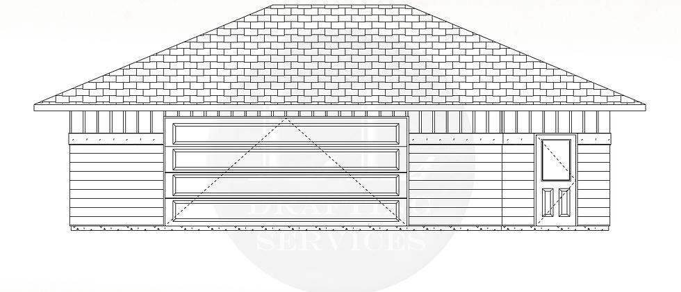 Garage Plan LLG-006