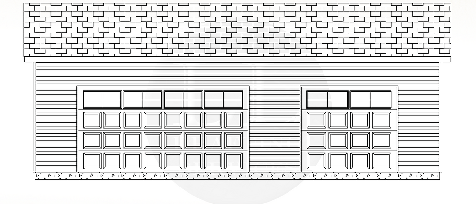 Garage Plan LLG-017