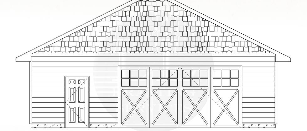 Garage Plan LLG-011