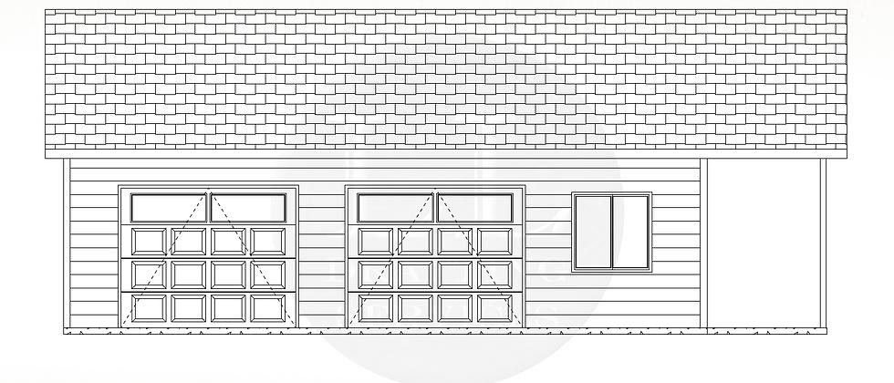 Garage Plan LLG-002