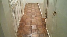 Handmade Parquet Floor Installation