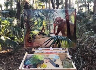Plein Air Painting in a Time Machine