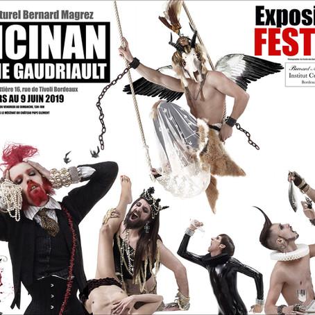 07/03/2019 -   Vernissage de l'exposition FESTINS de RANCINAN et Caroline Gaudriault