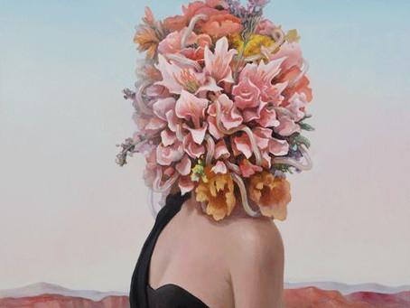01/02/2020  ATELIER -RU XIAOFAN et ses masques floraux en décopatch