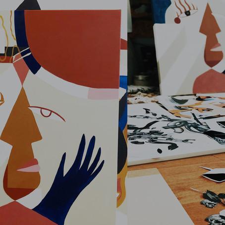 18/01/2020|ATELIER MARYNN & MADI-Collages rêveurs et cubistes