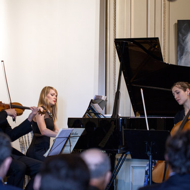 Camille Thomas, Nicolas Dautricourt et Olga Kirpicheva