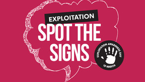 Child exploitation – know the warning signs