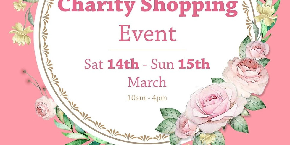 Early Mother's Day Charity Shopping Event