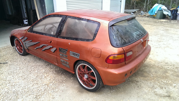 93 Honda Hatch Drag car
