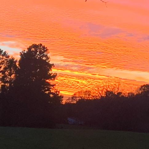 Sunset at Villevue