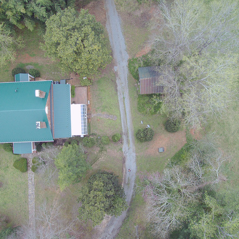 Drone shot overhead