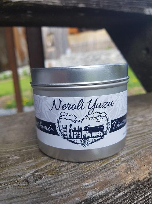 Bougie parfumée Neroli yuzu