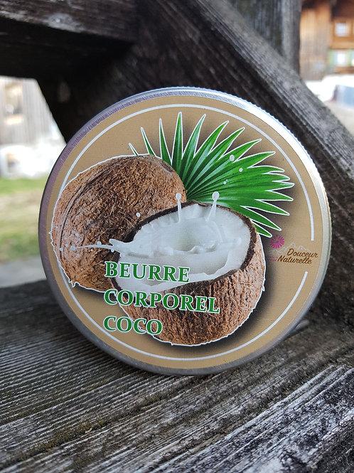 Beurre corporel Coco