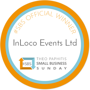 Theo Paphitis awards InLoco Events with a major business boost