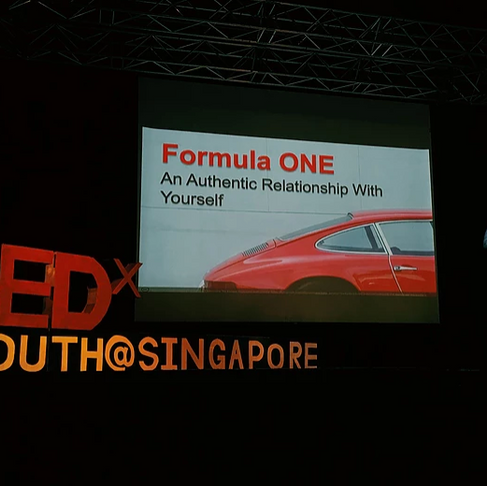 Michelle, Our Founder, at TedxYouth @ Singapore