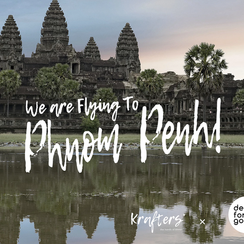 We Are flying to Phnom Penh!