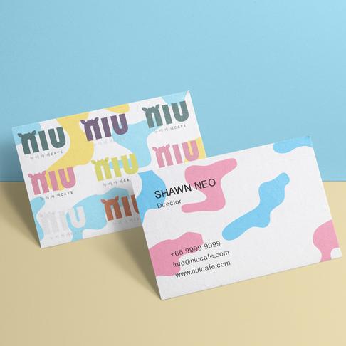 NIU Cafe: Branding