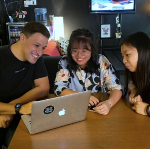 School Holidays at Make The Change — Internship Stories — Gladys and Xin Hui - Zhenghua Secondary Sc