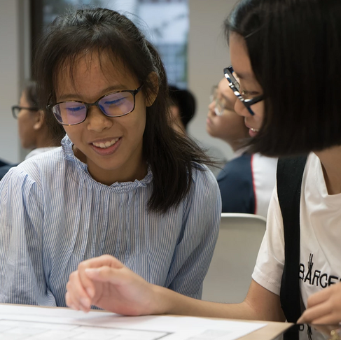 Summer at Make The Change — Internship Stories — Xin Yan and Yu Ting - Raffles Girls School