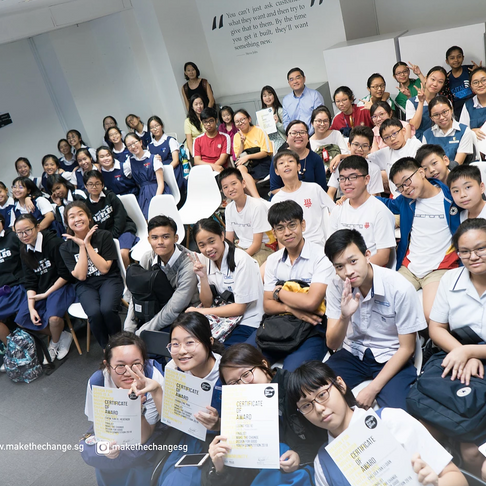 What Happened At Our Award Ceremony for MTC Design For Good Youth Competition'18