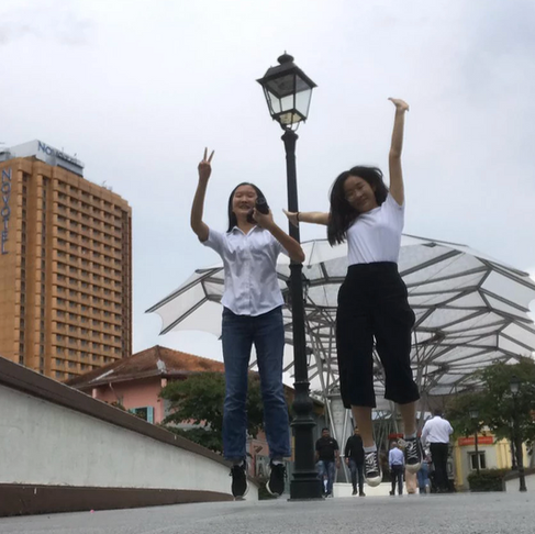Secondary School Internship Experience at Make The Change — Christine and Kelly