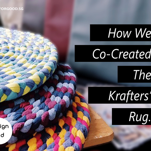 How We Co-Created The Krafters' Rug