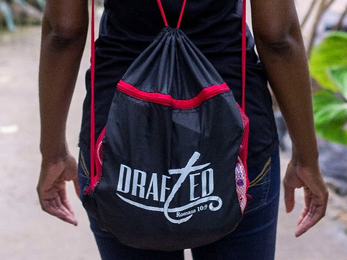 Drafted Drawstring Bags