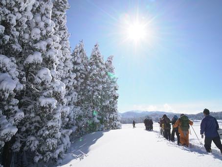 冬の里山体験ツアー開催