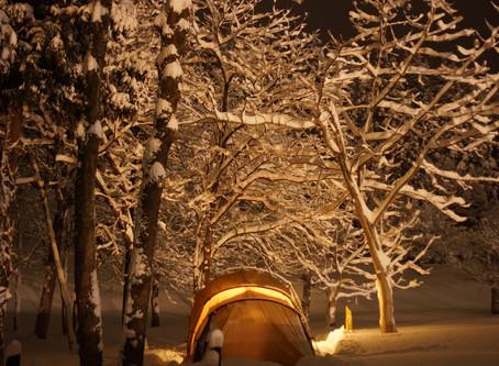 雪中キャンプに初挑戦!
