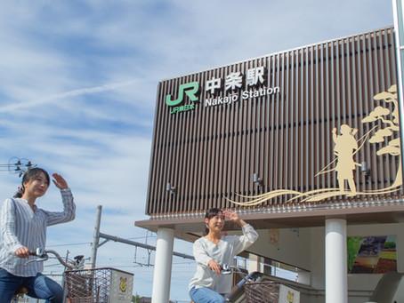 中条駅出発桜を堪能!春のサイクリングルート