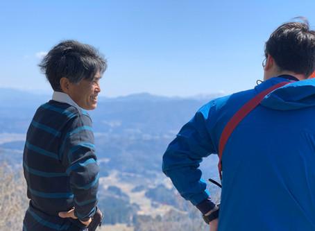 登山とAREA6番バッター