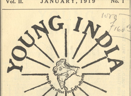 'द यंग इंडिया' की विचारधारा - द्वारा: अनूप धर