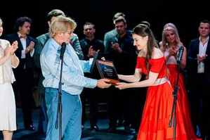 Поздравляем Викторию Лазареву с успешным выступлением на музыкальном конкурсе!
