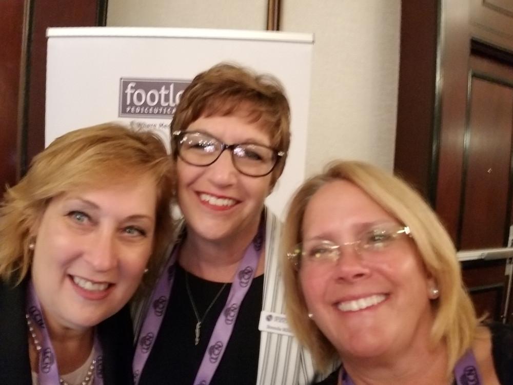 Vicki Malo, Brenda Ribble and Me.