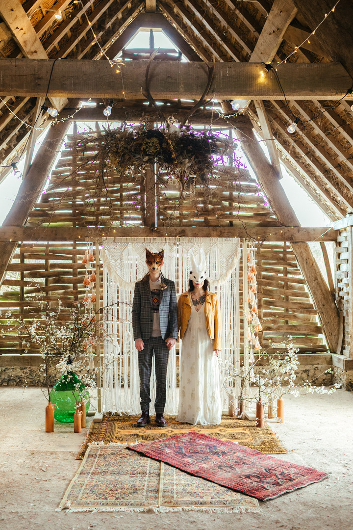 The Wedding Shack styling