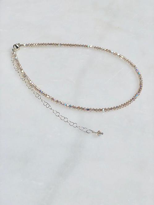 """13-18"""" Light Silk Necklace/Choker"""